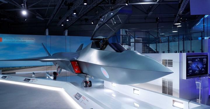 6. nesil savaş uçağı Tempest'ın radar sistemi, bir şehrin internet trafiği kadar veri işleyebiliyor