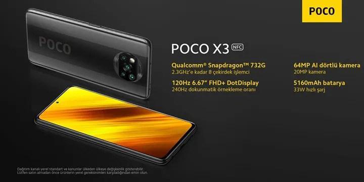 Poco X3 NFC, Türkiye'de satışa çıktı: İşte fiyatlar