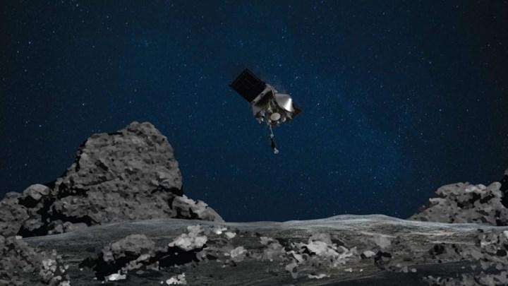 NASA'nın OSIRIX-REx uzay aracı, Bennu asteroitine numune toplamak için iniş yaptı