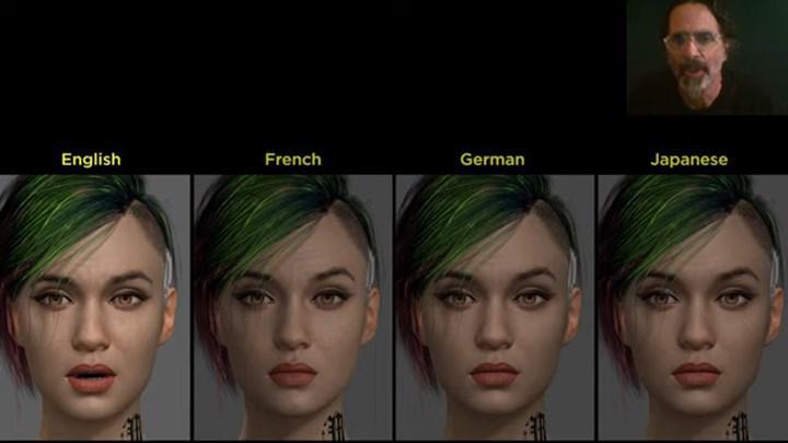 Cyberpunk 2077'deki karakterlerin dudak hareketleri konuştukları dillere uygun olacak