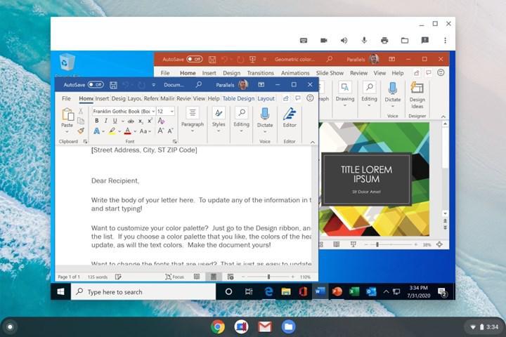 Google ve Parallels iş birliği ile Chromebook modellerinde Windows 10 devri