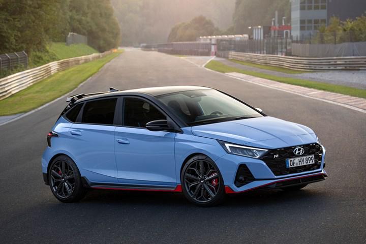 Hyundai i20 N tanıtıldı: Sportif tasarım, 204 beygir güç