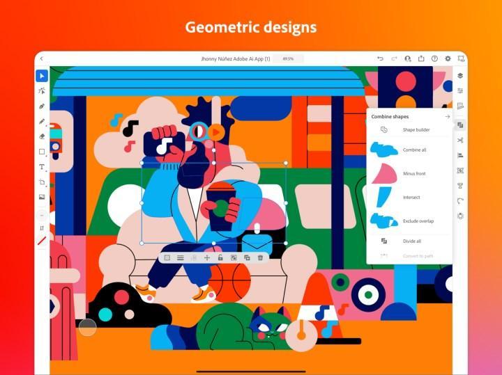 Adobe Illustrator'ın iPad sürümü çıktı