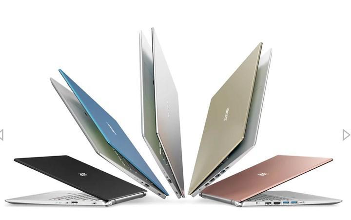 Acer Spin 3 ve Spin 5 dizüstüler güncellendi