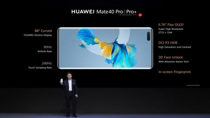 Huawei Mate 40 Pro ve Pro+ etkileyici özellikler ile tanıtıldı