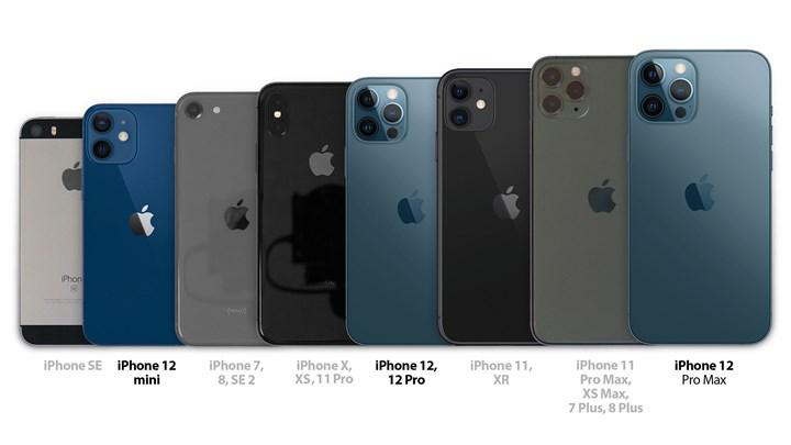 Dünden bugüne iPhone modelleri yan yana