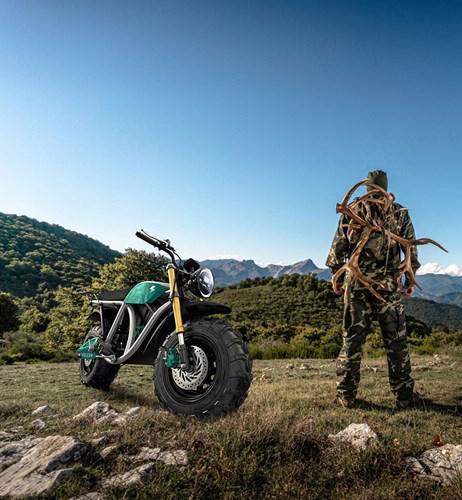 160 km menzile sahip arazi odaklı elektrikli motosiklet: Volcon Grunt