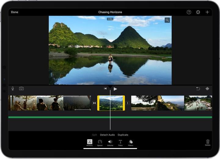 iMovie uygulamasına HDR desteği geldi