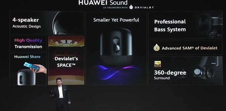 Huawei Sound akıllı hoparlör ön siparişlere başladı