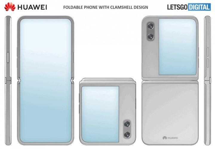 Huawei'e ait yeni bir katlanabilir telefonun patenti ortaya çıktı