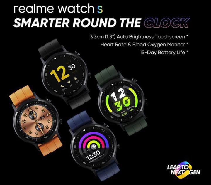 Realme, 2 Kasım'da Watch S akıllı saat ve diğer yeni ürünlerini duyuracak