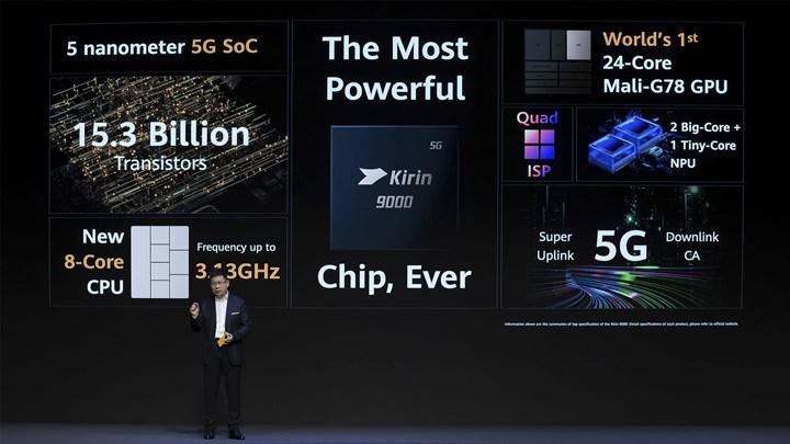 Huawei Kirin 9000 ve Kirin 9000E arasında ne fark var?