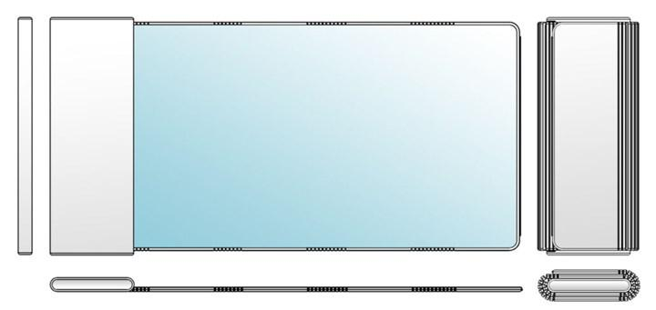 TCL'nin rulolanabilir telefon prototipi sızdırıldı