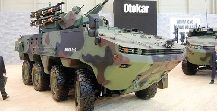 Otokar yurt dışından Cobra II ve Arma 8x8 siparişi aldı