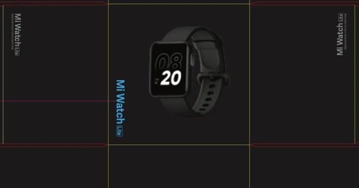 Xiaomi Mi Watch Lite akıllı saatin tasarımı ve özellikleri ortaya çıktı