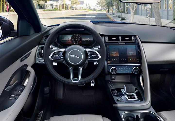 Makyajlı Jaguar E-Pace yenilenen yüzü ve teknolojileriyle tanıtıldı