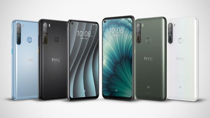 HTC Desire 20 Pro ve HTC U20 5G Türkiye'de satışa çıkmaya hazırlanıyor