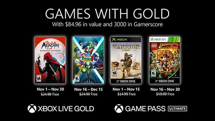Xbox Live Gold abonelerine Kasım ayında ücretsiz olarak verilecek oyunlar belli oldu