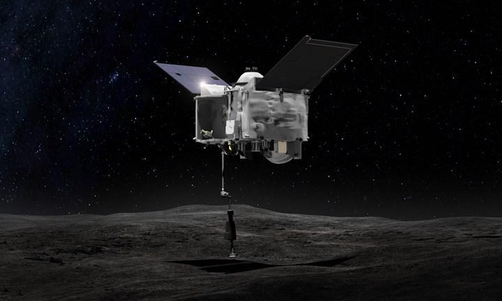 OSIRIX-REx'ten sızan asteroit toprağı sorunu çözüldü