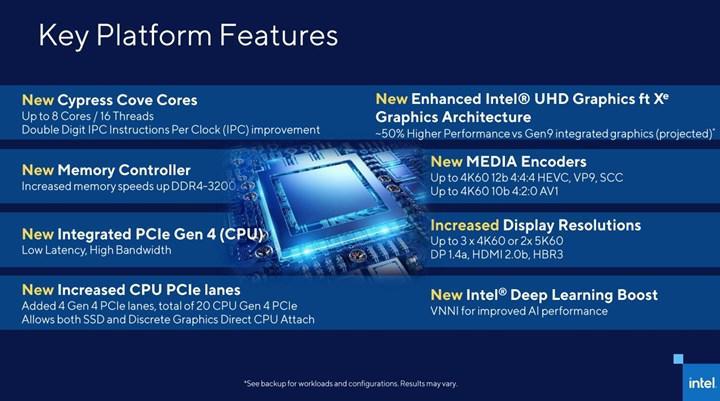 Intel Rocket Lake'i doğruladı: İki haneli IPC artışı geliyor