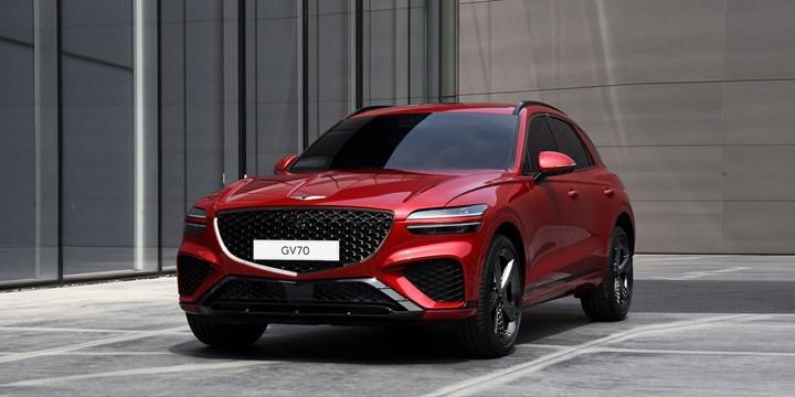 2021 Genesis GV70, lüks crossover sınıfının iddialı üyelerinden biri olmaya geldi
