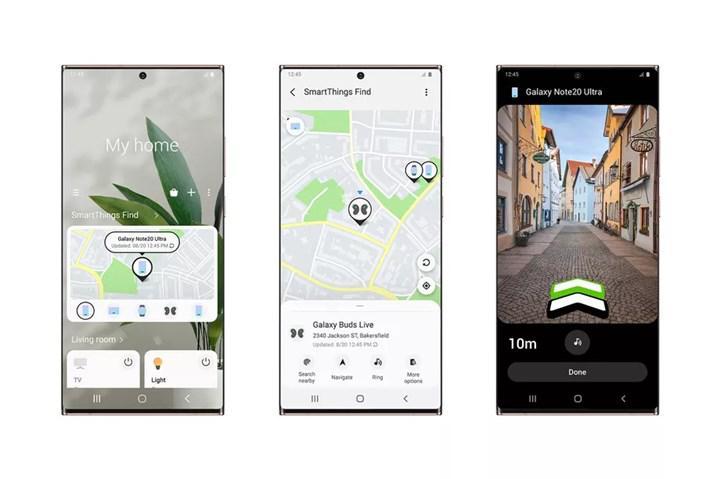 Samsung, tüm Galaxy cihazlarınızı bulmanızı sağlayan SmartThings Find'ı kullanıma sundu