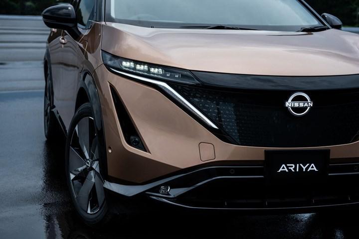 Elektrikli Nissan Ariya'nın ilk prototipleri Avrupa'ya ulaştı