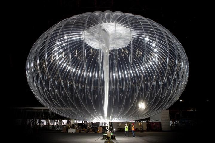 Loon'un internet balonu, stratosferde 312 gün kalarak rekor kırdı