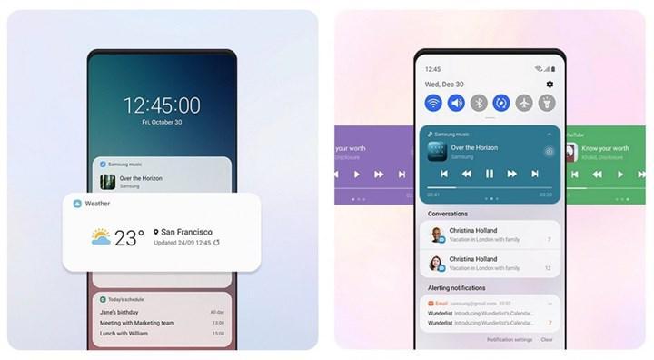 Samsung, Android 11 tabanlı One UI 3.0'ın temel özelliklerini tanıttı