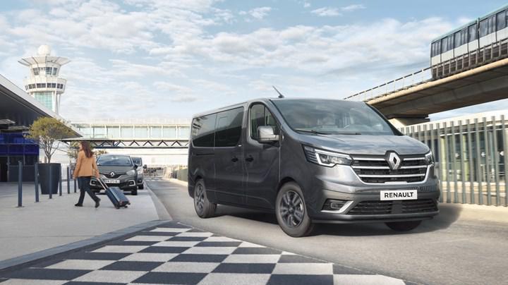 2021 Renault Trafic, yeni yüzü ve teknolojileriyle tanıtıldı