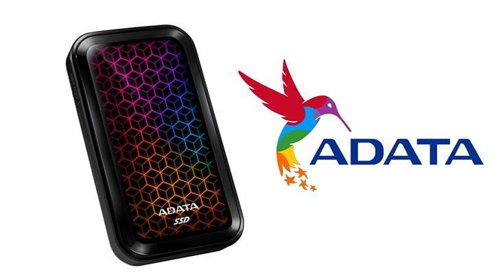 ADATA yeni RGB aydınlatmalı harici diskini duyurdu