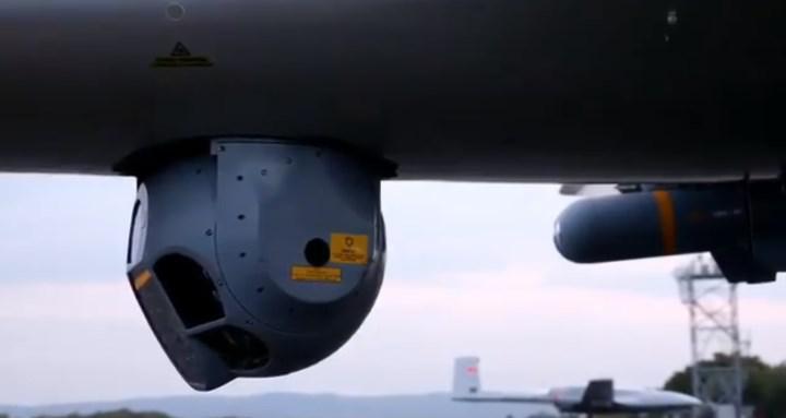 Bayraktar TB2 ASELSAN'ın 'gözü' ile gördü ve vurdu