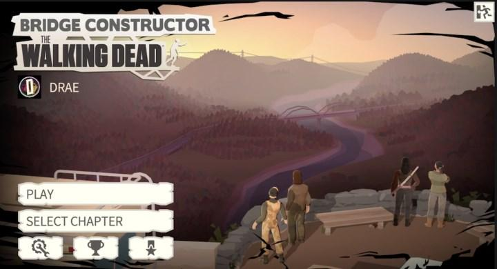 Mobil cihazlar için de çıkacak olan Bridge Constructor: The Walking Dead'ten oynanış videosu yayınlandı