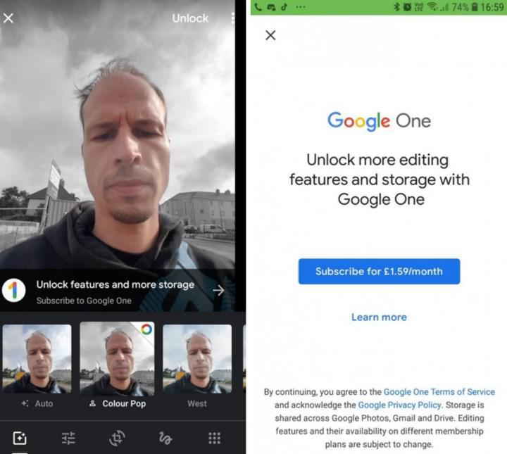 Google Fotoğraflar uygulamasına ücretli özellikler geliyor
