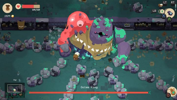 Rogue-lite türündeki rol yapma oyunu Moonlighter 19 Kasım'da iOS cihazlara geliyor