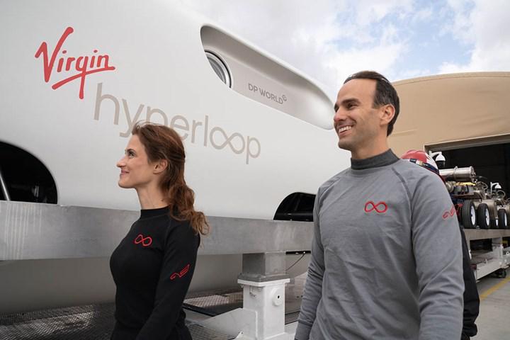 Virgin Hyperloop, ilk insanlı testi başarıyla tamamladı