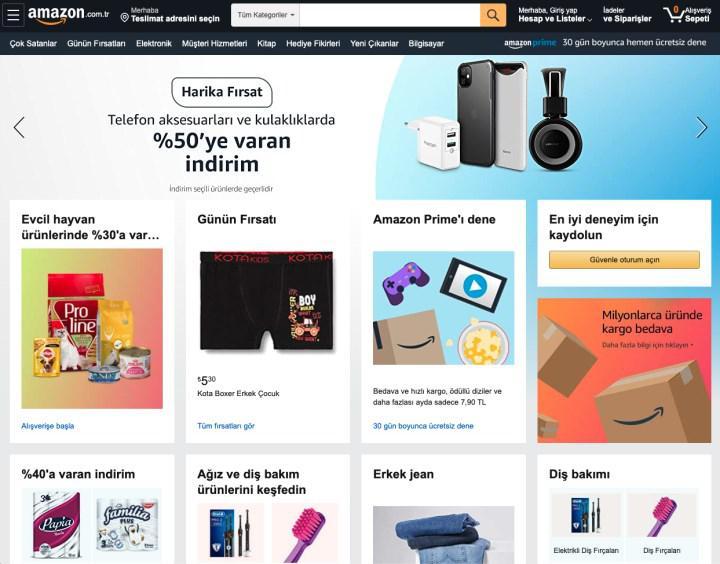 Amazon Türkiye'nin 9-11 Kasım indirimlerinde ilk ürünler gelmeye başladı