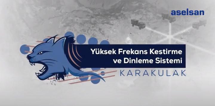 ASELSAN'ın yeni silah sistemi Karakulak Türk Silahlı Kuvvetlerine teslim edildi