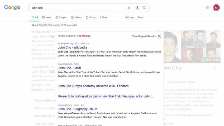 Simple Search ile Google'ın 1998 sürümünü deneyimleyin