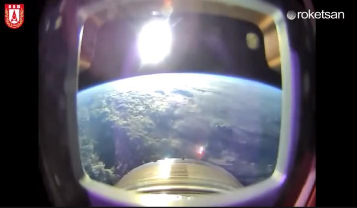 İşte ROKETSAN'ın uzaya çıktığı anlar: Yörüngeden müthiş Dünya görüntüsü