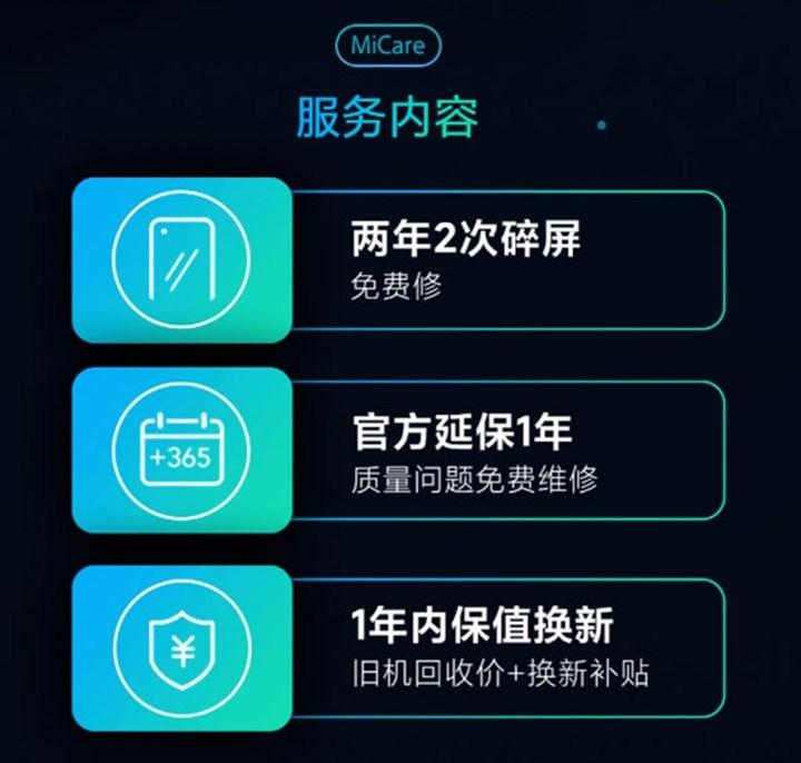 Xiaomi, akıllı telefon sigorta hizmetini başlattı: MiCare