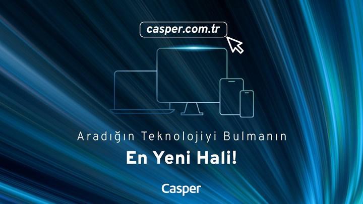 Casper web sitesinin yenilenmesine özel indirimler sizi bekliyor