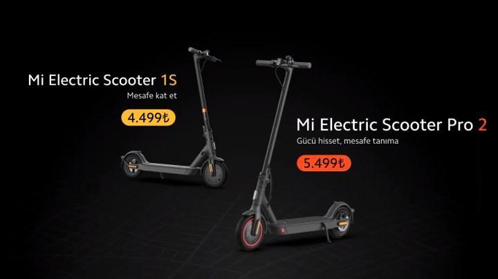Yeni Mi Electric Scooter modelleri ülkemizde