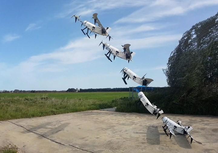 Hidrojenden güç alan dron, 3.5 saat süreyle havada kaldı