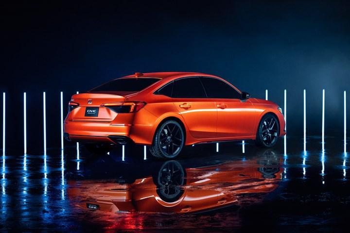 2021 Honda Civic'in tasarımı ortaya çıktı!
