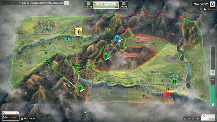 Mobil oyun Rebel Inc'in, isyanı bastırıp barışı getirmeye çalıştığınız yeni modu ücretsiz olarak yayınlandı