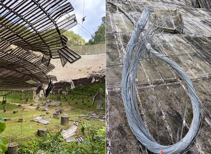 Arecibo Gözlemevi'nin kaderi belli oldu! Tamir edilmesi mümkün olmayan teleskop yıkılacak