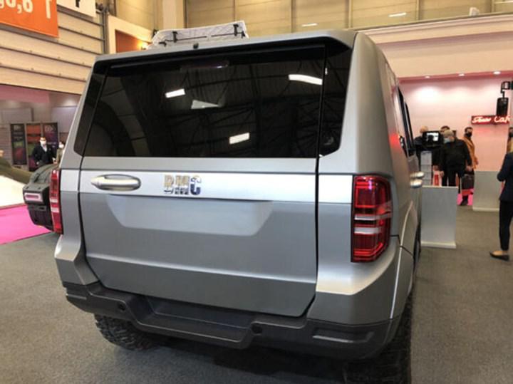BMC'nin yerli üretim zırhlı SUV modeli Tulga, MÜSİAD EXPO 2020'de sergileniyor