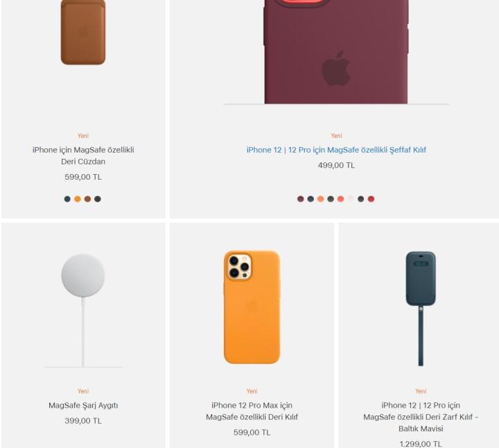 iPhone 12 MagSafe kılıfları ülkemizde satışta