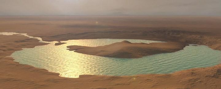 Curiosity Gezgini, Mars'ta bir zamanlar mega sel oluştuğuna dair kanıt buldu